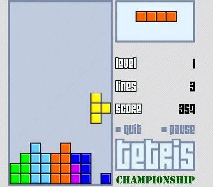 тетрис классический играть онлайн