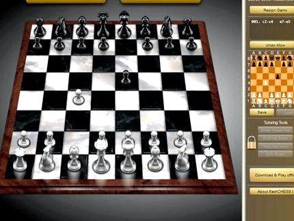 Игра в шахматы интернет мини игры