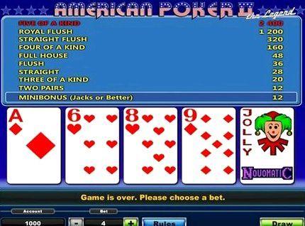 американ покер игровые автоматы