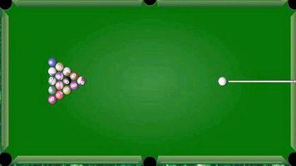 бильярд играть онлайн на весь экран