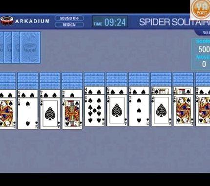 компьютером с в в играть бесплатно паук карты