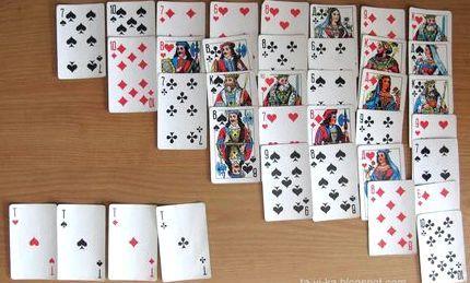 Как играть пасьянс из 36 карт игровые автоматы г.стырый крым