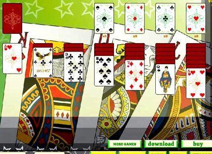три карты игры онлайн играть косынка