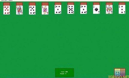 Игра пасьянс паук 2 масти играть бесплатно онлайн и без регистрации 3