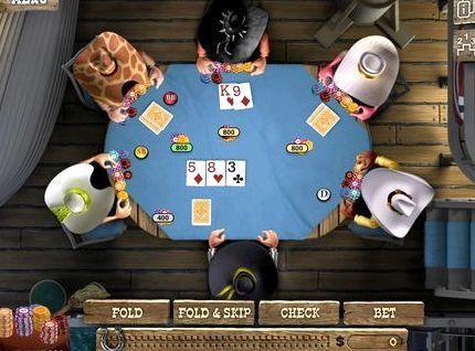 с карты покер компьютером играть