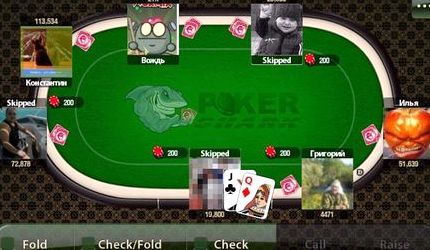 онлайн шарк игры покер